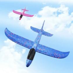 Avion en mousse pour jouer en plein air